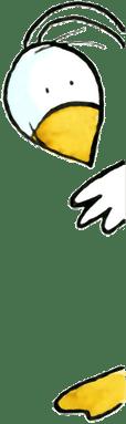vogel om de hoek - illustratie - kraamburo pvg - persoonlijke kraamzorg